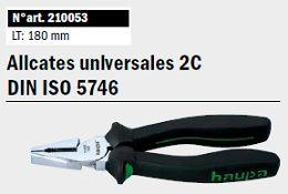 Alicates Universales 2C DIN ISO 5746