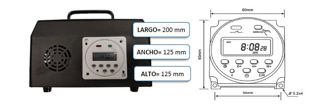 Generador de Ozono KOZONO-P-10 ICASA 9199001