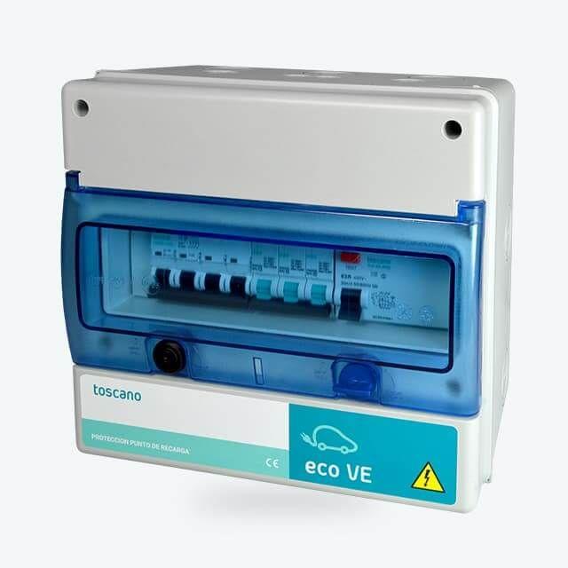 Cuadros de mando y protección para recarga de vehículos eléctricos